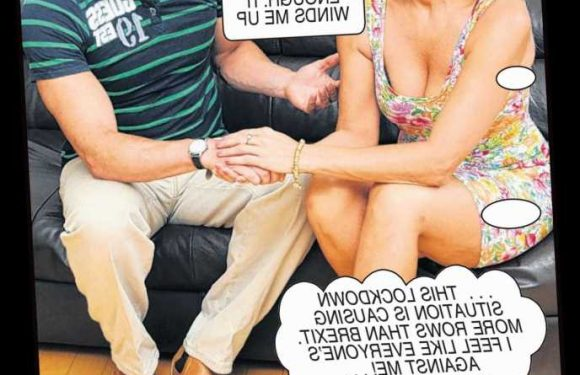 Gemma can't find a sympathetic ear to vent her lockdown frustration — Deidre's Photo Casebook – The Sun