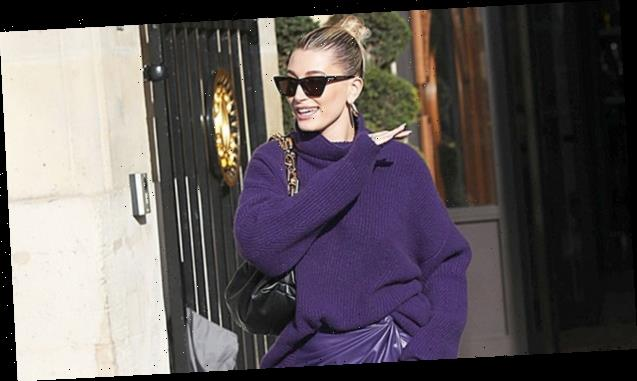 Pretty In Purple: Hailey Baldwin, Cardi B & 16 More Stars Wearing The Bright Color For Spring