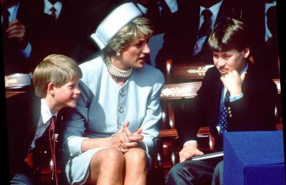 Princess Diana and a 10-Year-Old Prince Harry Shared This Sweet Moment 25 Years Ago This Week