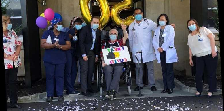 Long Island Rehab Center Celebrates Recovery and Discharge of 50th COVID Patient with Car Parade