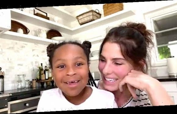 Sandra Bullock Shares Rare Glimpse Of Daughter Laila, 8, During Tearful Chat With Nurse On 'RTT'