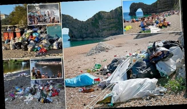 Disgusting state of Britain's beaches is revealed