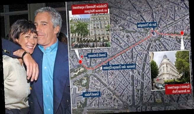 Fugitive 'madam' Ghislaine Maxwell 'hiding out in luxury Paris flat'