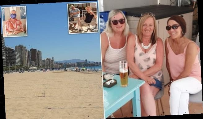 First Brits to holiday in Spain reveal they've got 'empty' beaches