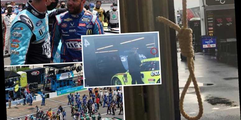 Nascar releases photo of 'noose' found in Bubba Wallace's garage at Talladega – The Sun