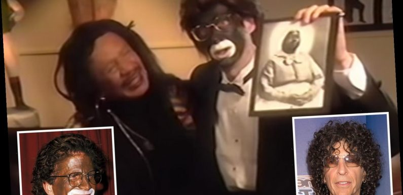 Howard Stern seen in resurfaced clip 'wearing blackface makeup and using the N-word' during skit from 1993 – The Sun