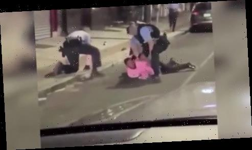 Cop 'appears to put baton in George Floyd protester's hand then punches him to disarm him' during arrest in Philadelphia – The Sun