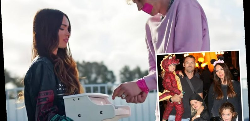 Megan Fox isn't 'serious enough' with Machine Gun Kelly to introduce him to her three kids with ex Brian Austin Green – The Sun