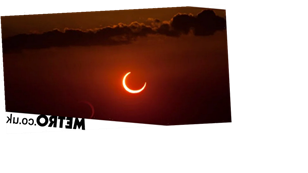 A stunning 'ring of fire' solar eclipse will happen this weekend