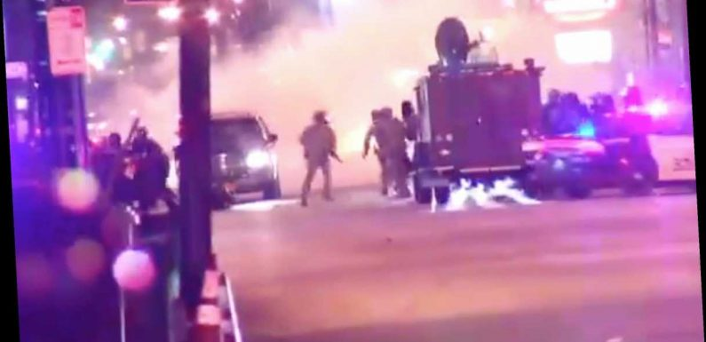 Video shows SUV hit two officers at George Floyd protest in Buffalo