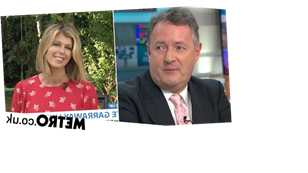 Piers Morgan and Susanna Reid support Kate Garraway as she appears on GMB