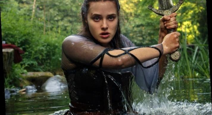 13 Reasons Why's Katherine Langford Prepares for a Royal Rumble in Cursed Teaser — Find Out When It Premieres