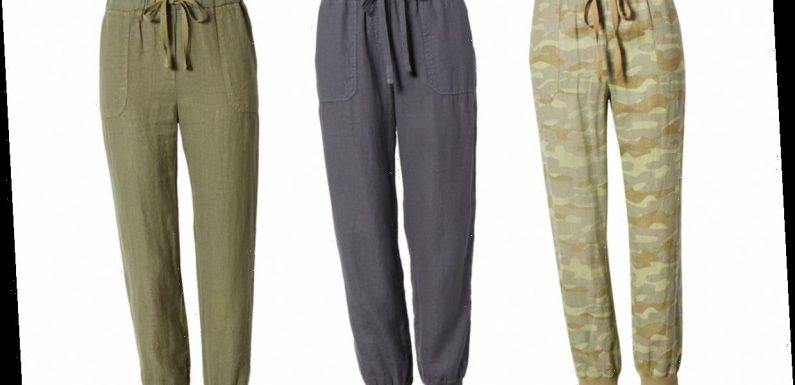 These Lightweight Linen Joggers Will Replace Your Favorite Sweatpants This Summer