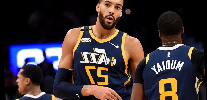 NBA Player Rudy Gobert Says He Has Trouble Smelling 3 Months After Testing Positive for COVID-19