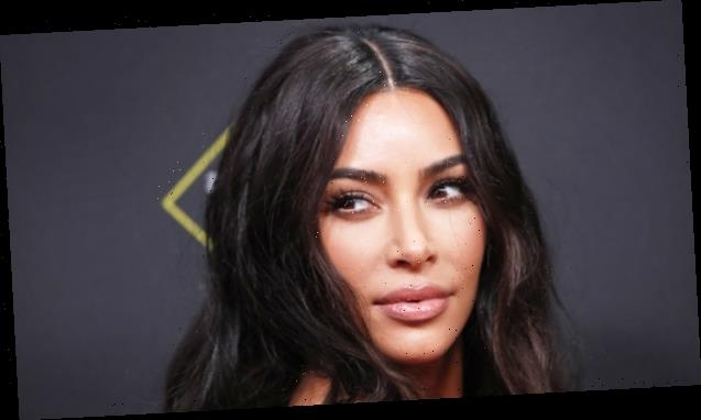 Kim Kardashian Rivals Sister Kylie Jenner With Plump Lips In New SKIMs Promo Pics