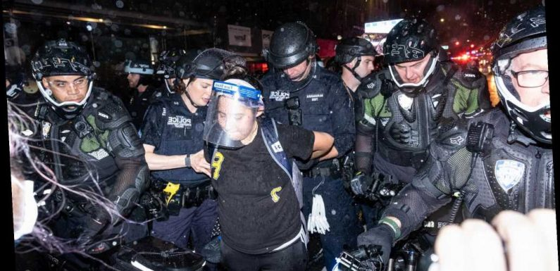 NYPD bike cops break out 'turtle uniforms' amid George Floyd protests