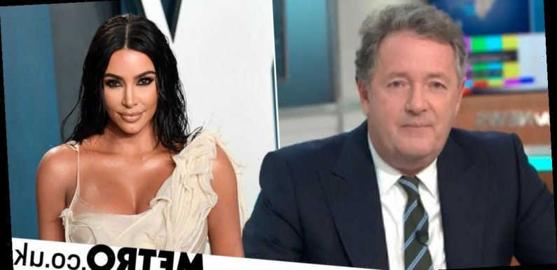 Piers Morgan rips into 'talentless' Kim Kardashian over billionaire status
