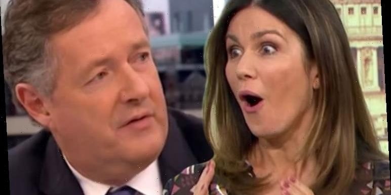 Piers Morgan sets record straight on GMB co-star Susanna Reid's 'disgusting' on-air move