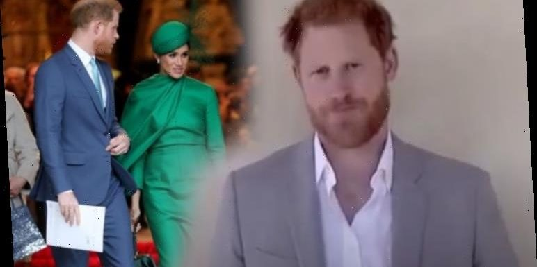 Heartbreaking Prince Harry video 'emphasises the distancing from all things royal'
