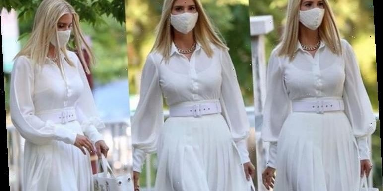 Ivanka Trump style: First Daughter stuns in £5k white outfit for White House campaign