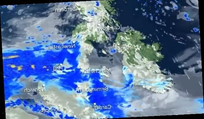 Britons face more summer rain today with heavy showers