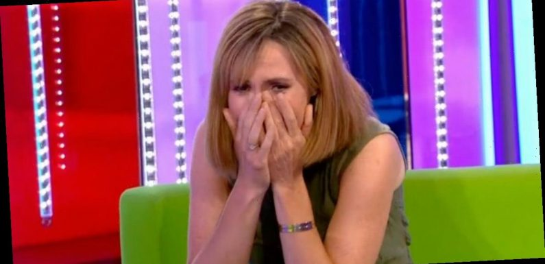 Alex Jones breaks down in tears on The One Show after five months without seeing mum