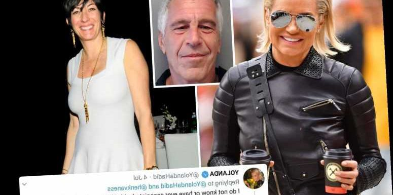 Yolanda Hadid says she's not friendly with Ghislaine Maxwell & didn't let Epstein's alleged 'pimp' stay with her – The Sun