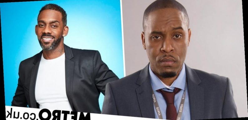 Comedian says production company confused pictures of him and Richard Blackwood