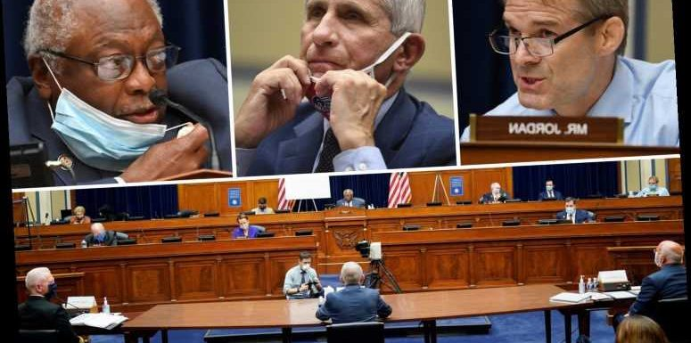 Democrats and Republicans get testy during tense House hearing while grilling Fauci on Trump's COVID response