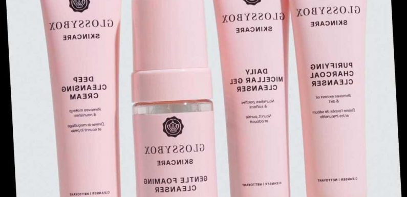 Glossybox launches incredible skincare range and it's all under £18 – here's whats included