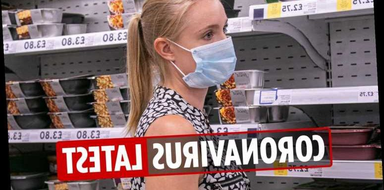 Coronavirus UK latest news: Face masks mandatory in all shops from TODAY as deaths hit 45,554 – LIVE updates