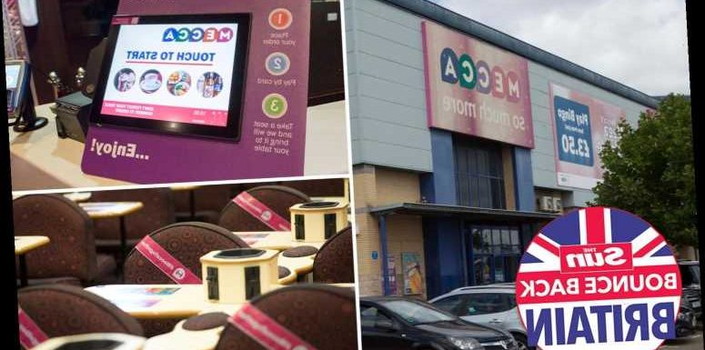 Inside Mecca Bingo as it prepares to reopen halls on July 4 with table service and early bird sessions