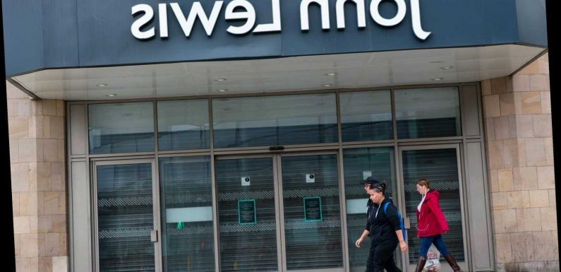 John Lewis 'set to axe stores, jobs and bonuses in battle to survive'