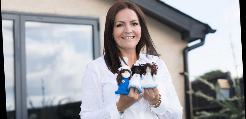 Mum-of-four who knits angel mascots for NHS workers scoops £1m on scratchcard