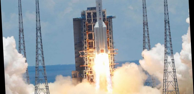 China launches Tianwen-1 Mars rocket firing starting pistol in race with US to land humans on Red Planet – The Sun