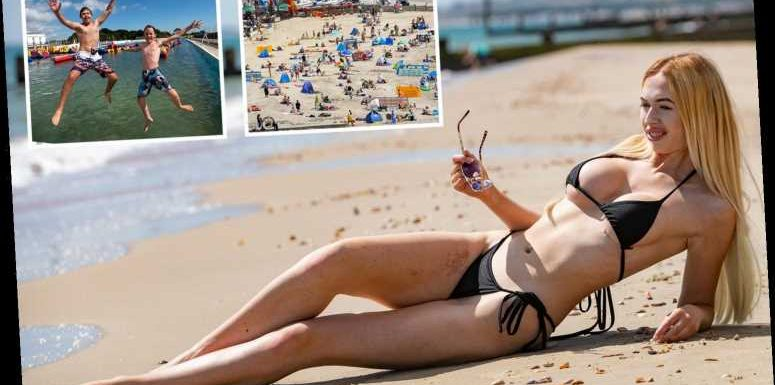 UK weather – Brits hit beach for 28C scorcher as soaring temperatures to stay into weekend