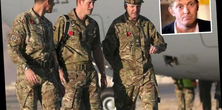 Prince Harry blasted as a 'complete idiot' over his Commonwealth comments by army hero he worked with on PTSD campaign