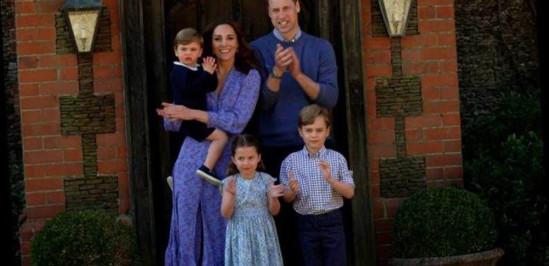 Prince William and Kate Middleton Use a 'Chat Sofa' to Discipline Their Kids