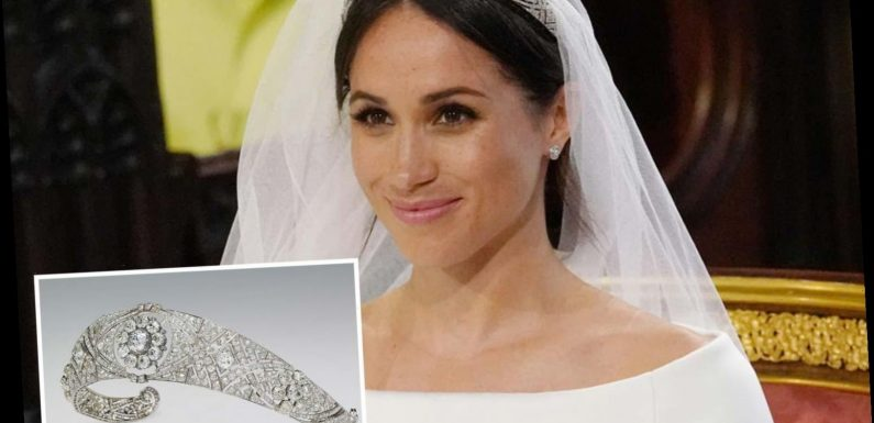 Meghan Markle's wedding tiara row DID happen…but she blames the Queen's favourite dresser, new book claims