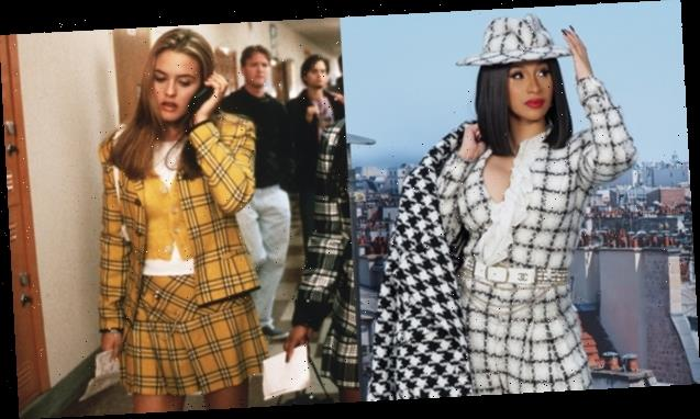 Cardi B Twins As Cher In 'Clueless' With Kulture At Her 2nd Birthday Party – Videos