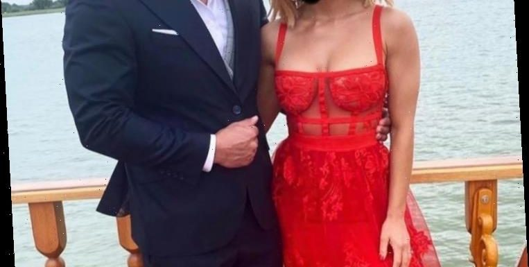 Wedding guest slammed for stealing attention from the bride in a 'too hot' sheer red lacy dress