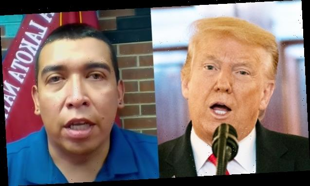 Donald Trump Ripped By Oglala Sioux President For Mount Rushmore Speech & Fireworks