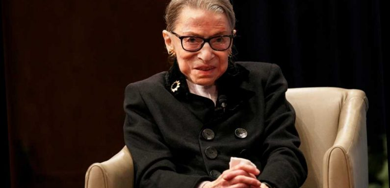 Justice Ruth Bader Ginsburg undergoing chemotherapy for recurrence of cancer