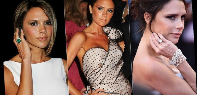 Victoria Beckham's 14 jaw-dropping engagement rings revealed