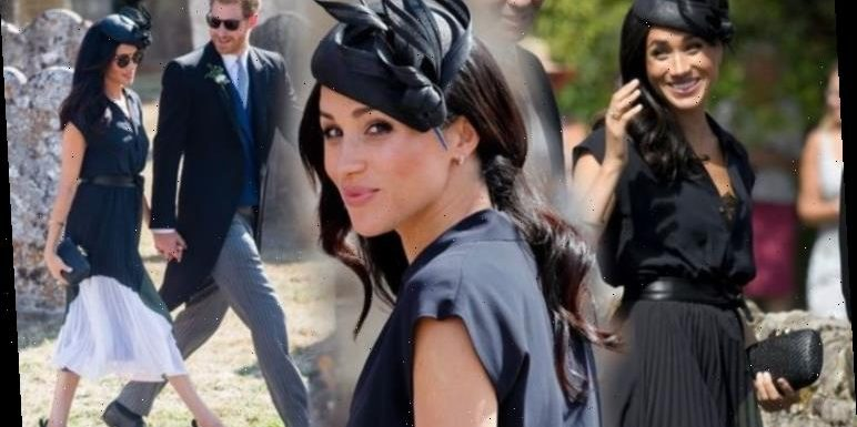 Meghan Markle's lavish £5,000 birthday look at Harry's friend and Archie godfather wedding