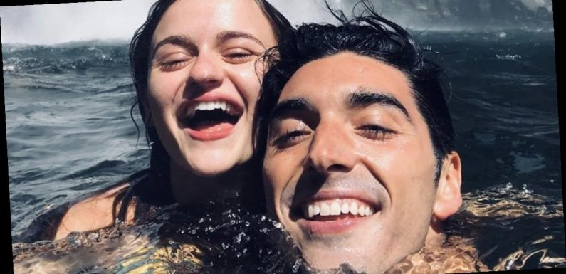 Joey King and Taylor Zakhar Perez Enjoy a Gorgeous Waterfall Getaway — See the Pictures!