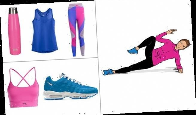 Get fit in 15 minutes: Banish your muffin top