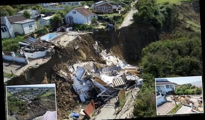 Neighbours of £195,000 house that plunged off cliff 'won't be helped'
