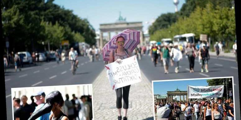 Thousands march in Berlin to protest coronavirus curbs despite huge rise in Germany's cases