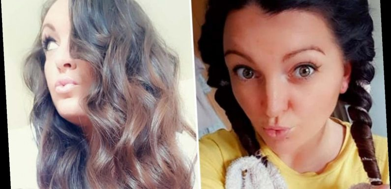 Amazing hack sees woman create perfect beachy waves overnight using just a dressing gown cord
